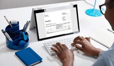 Invoice Stock Image 2
