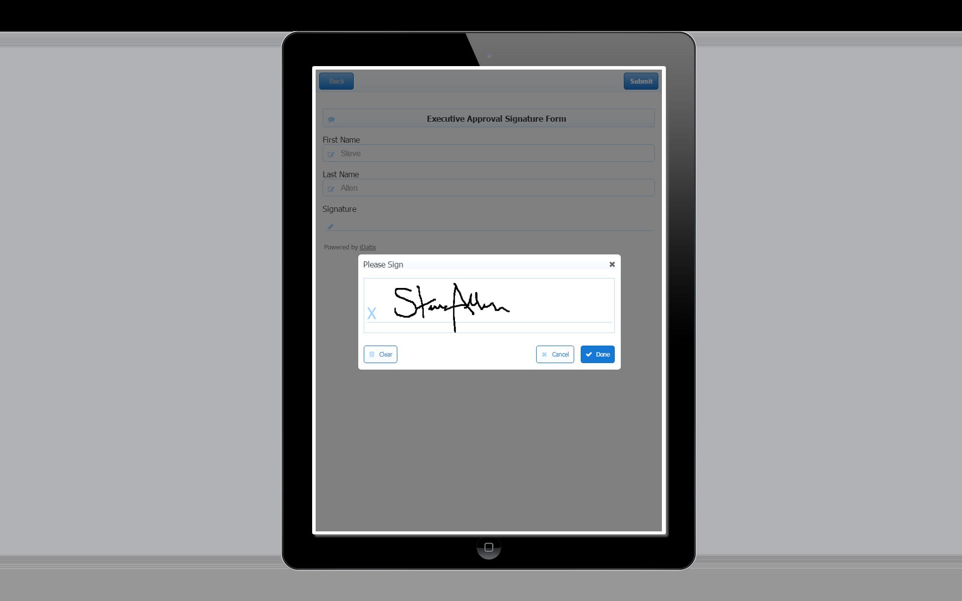 iSynergy 6.0 Wet Signature