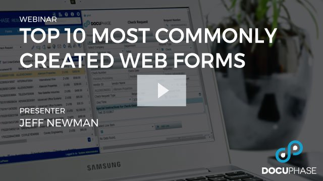 Top 10 Most Commonly Created Web Forms