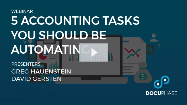 5 Accounting Tasks You Should Be Automating