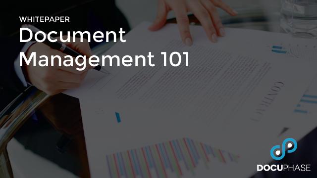 Document Management 101