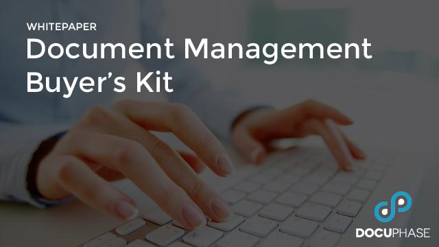 Document Management Buyer's Kit