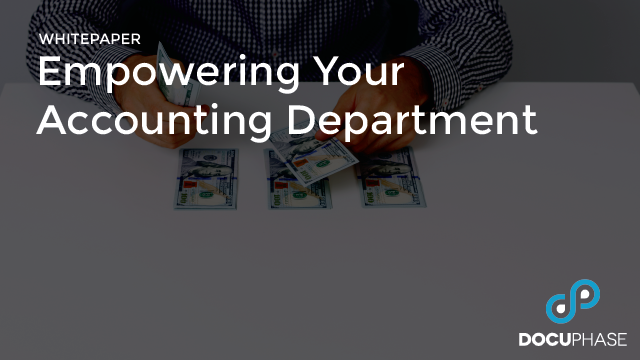 Empowering Your Accounting Department