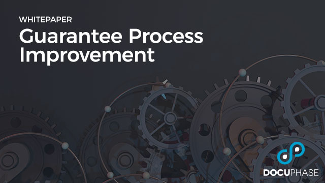 Guarantee Process Improvement