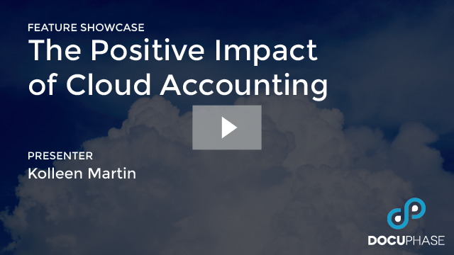 POSITIVE IMPACT OF CLOUD ACCOUNTING