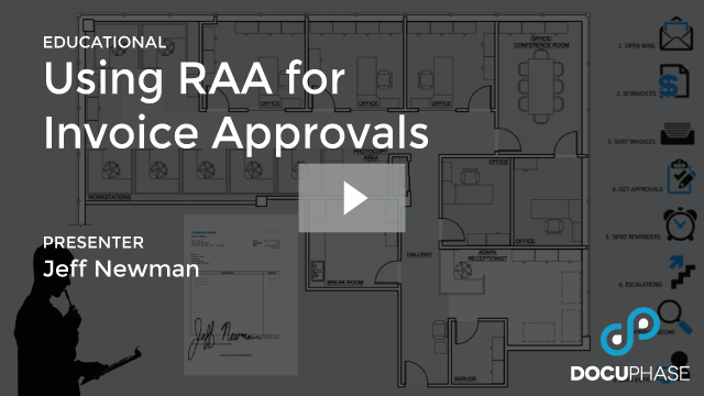 RAA INVOICE APPROVALS