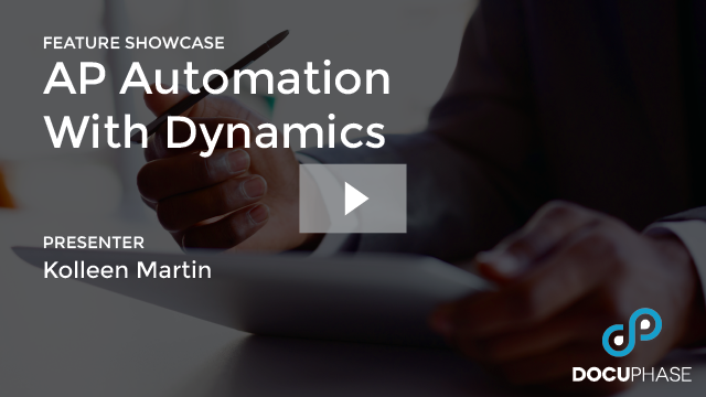 AP AUTOMATION WITH DYNAMICS
