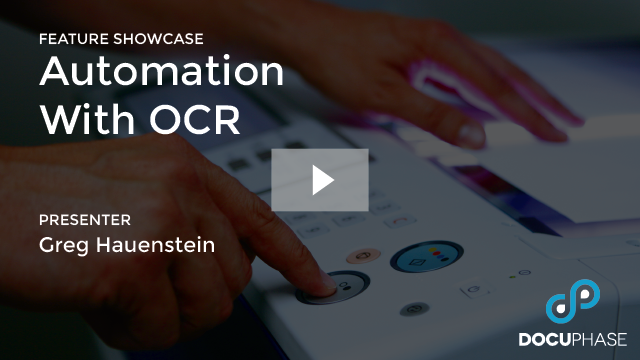AUTOMATION WITH OCR