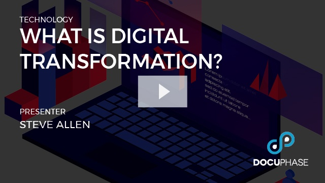 Digital Transformation - Taking the First Steps