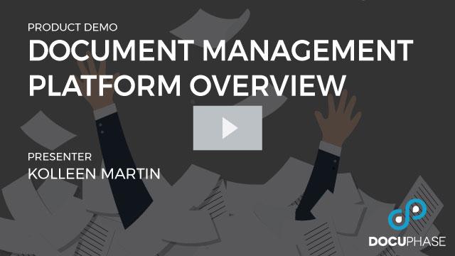 Document Management Platform Overview