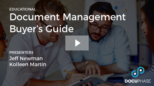 DOCUMENT MANAGEMENT BUYER'S GUIDE