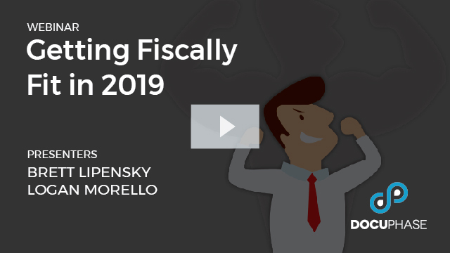 WEBINAR: Get Fiscally Fit in 2019