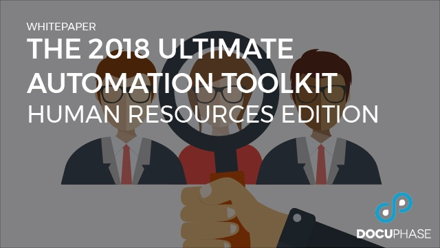 The 2018 Ultimate Automation Toolkit: Human Resources Edition