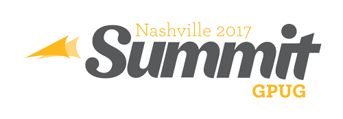 2017 Nashville GPUG Summit